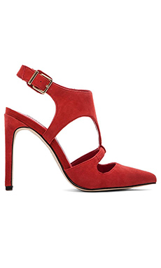 BCBGeneration Chamber Heel in Bright Red