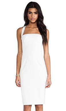 Black Halo Bryson Dress in Rope White