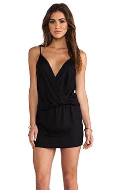 Black Halo Bella Mini Dress in Black