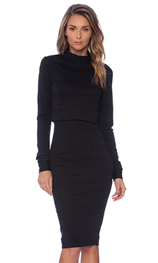 Black Halo Vada 2 Piece Dress in Black