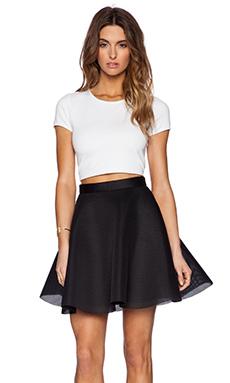 Black Halo Thaimi Two Piece Dress in White & Black