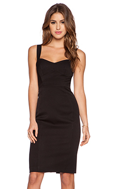 Black Halo Sadie Dress in Black