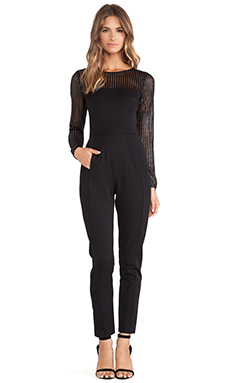 Black Halo Justyne Jumpsuit in Black