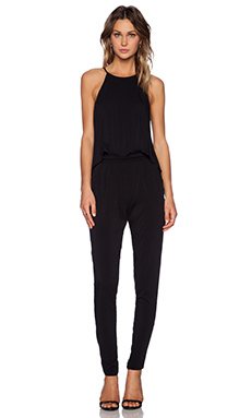 Black Halo Locus Jumpsuit in Black