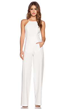 Black Halo Joaquin Jumpsuit in Seashell