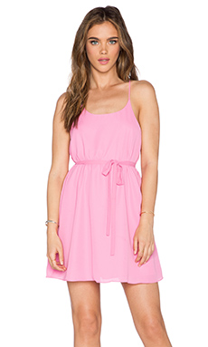 Bishop + Young Juliana Strap Dress in Pink