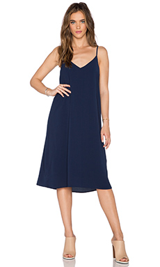 Bishop + Young Rachel Slip Dress in Navy