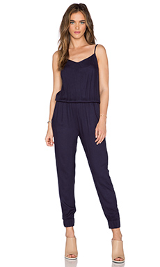 Bishop + Young Sleeveless Jumpsuit in Navy