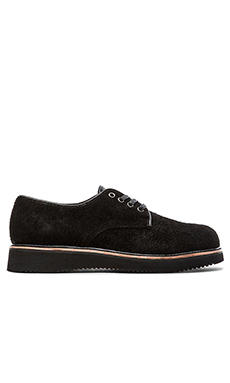 Broken Homme Michael Ox ll in Black Suede