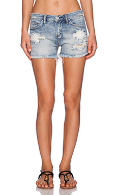 BLANKNYC Distressed Short in Virgin Who Cant Drive
