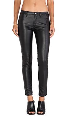 BLANKNYC Vegan Leather Skinny in Blacked Out
