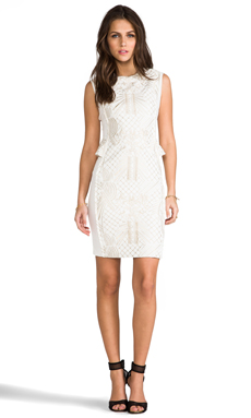 BLAQUE LABEL Dress in White