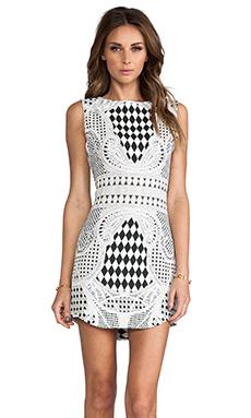BLAQUE LABEL Print Dress in Black