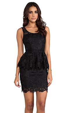 BLAQUE LABEL Lace Dress in Black
