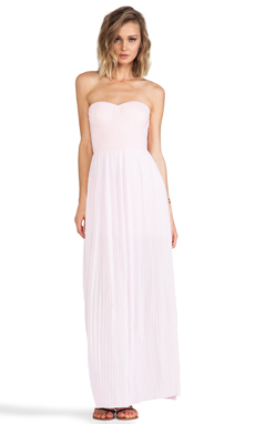 BLAQUE LABEL Sweetheart Maxi Dress in Pink