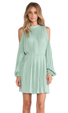 BLAQUE LABEL Cold Shoulder Dress in Seafoam