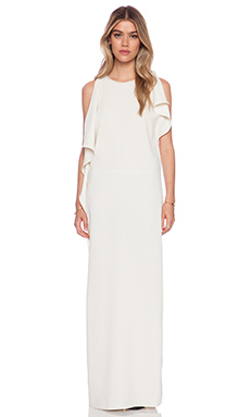 BLAQUE LABEL Maxi Dress in Cream