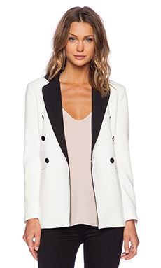 BLAQUE LABEL Blazer in Ivory
