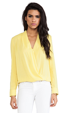 BLAQUE LABEL Blouse in Yellow