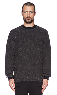 Blood Brother Anti Pullover in Black