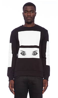 Blood Brother Tiko Sweat in Black/White