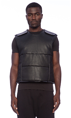 Blood Brother Proof Vest in Black