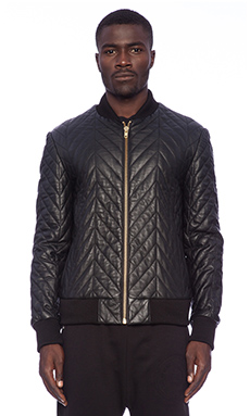 Blood Brother Shelf Alpha Jacket in Black