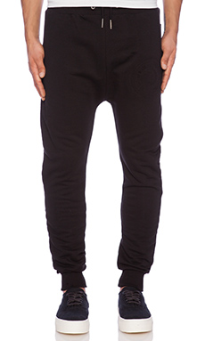 Blood Brother Winner Jogger in Black
