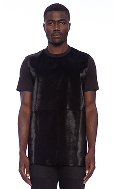 Blood Brother Project Pony Tee in Black
