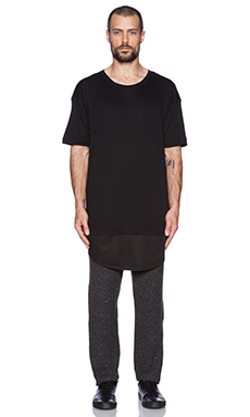 Blood Brother Morto Tee in Black
