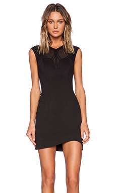 bless'ed are the meek X-Ray Dress in Black