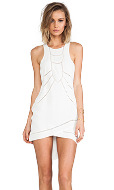 bless'ed are the meek Natural Forms Dress in Ivory