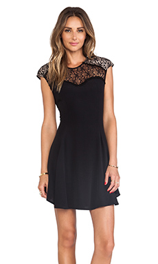 bless'ed are the meek Gabriel Dress in Black
