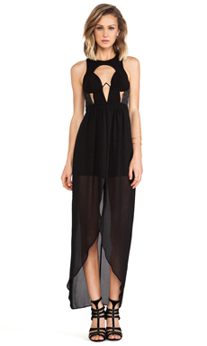 bless'ed are the meek Arc Maxi in Black