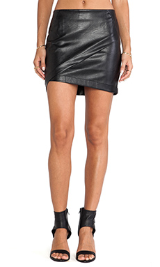 bless'ed are the meek Fracture Skirt in Black