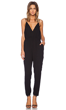 bless'ed are the meek Paprika Jumpsuit in Black