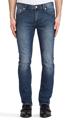 BLK DNM Jeans 5 in Dean Blue