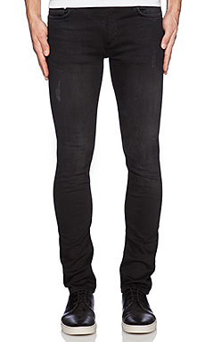 BLK DNM Jeans 5 in Clove Black