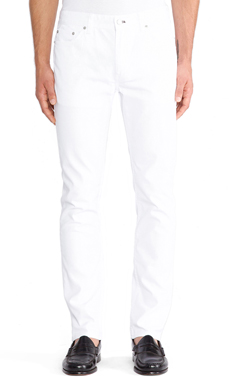 BLK DNM Jeans 5 in Astr White