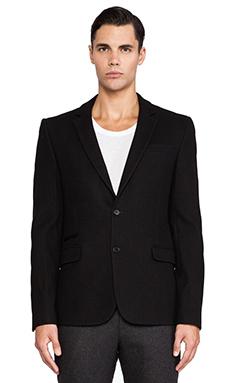 BLK DNM Blazer 25 in Black Melange