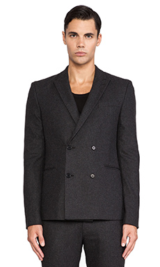 BLK DNM Blazer 30 in Grey Melange