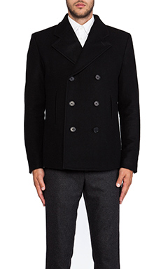 BLK DNM Coat 35 in Black