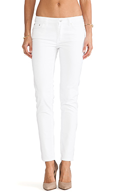 BLK DNM Jeans 26 in Monitor White