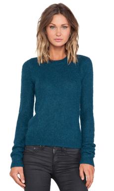 BLK DNM Sweater 21 in Emerald Blue