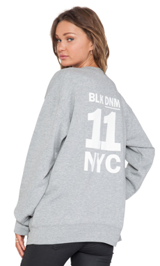 BLK DNM Sweatshirt 25 in White & Light