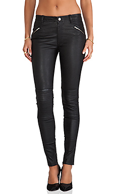 BLK DNM Leather Pant 1 in Black