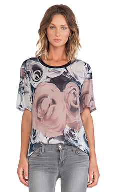 BLK DNM T-Shirt 12 in Antique Pink Rose