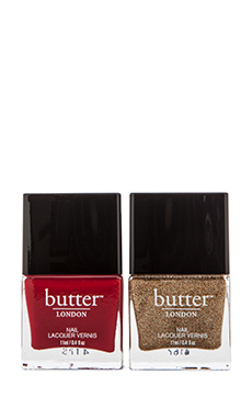 butter LONDON Golden Yard Nail Set
