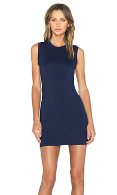 BLQ BASIQ Tank Dress in Navy