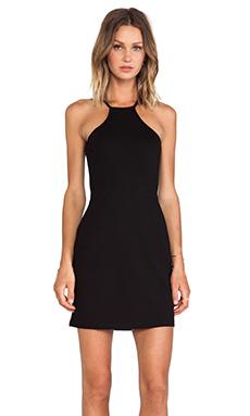 BLQ Basics Bodycon Racerback Dress in Black